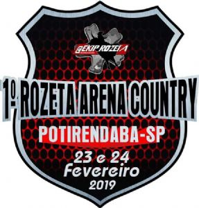 1º ROZETA ARENA COUNTRY - POTIRENDABA/SP